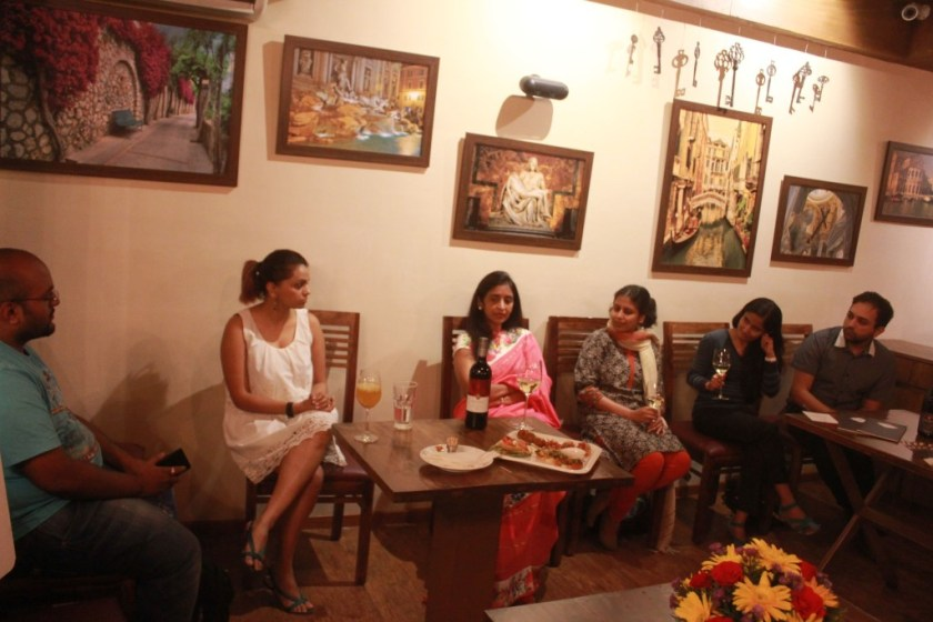 From left to right G. Nivedith, Neeti, Uma Chigurupati, Smita, Dhara