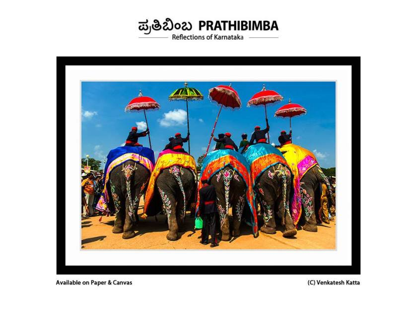 Venkatesh Katta's colorful and vivid image of one of Karnataka's most famous festivals - the Mysore Dussera.
