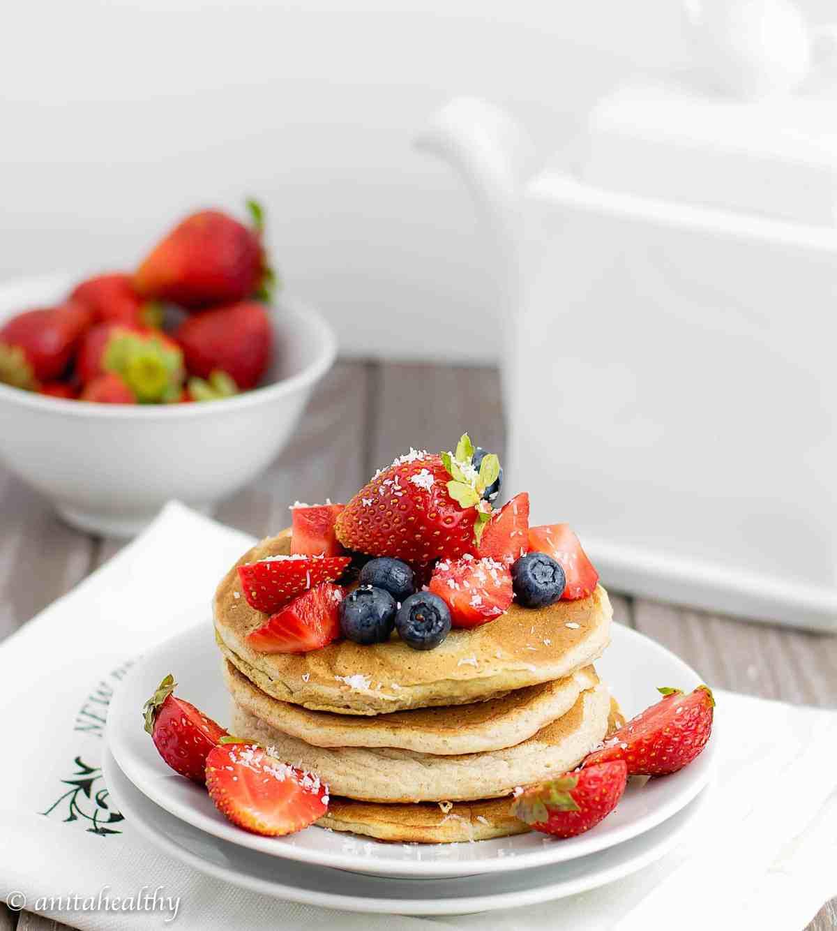 pancakes teff