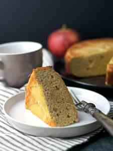 Healthy Cinnamon Apple Cake