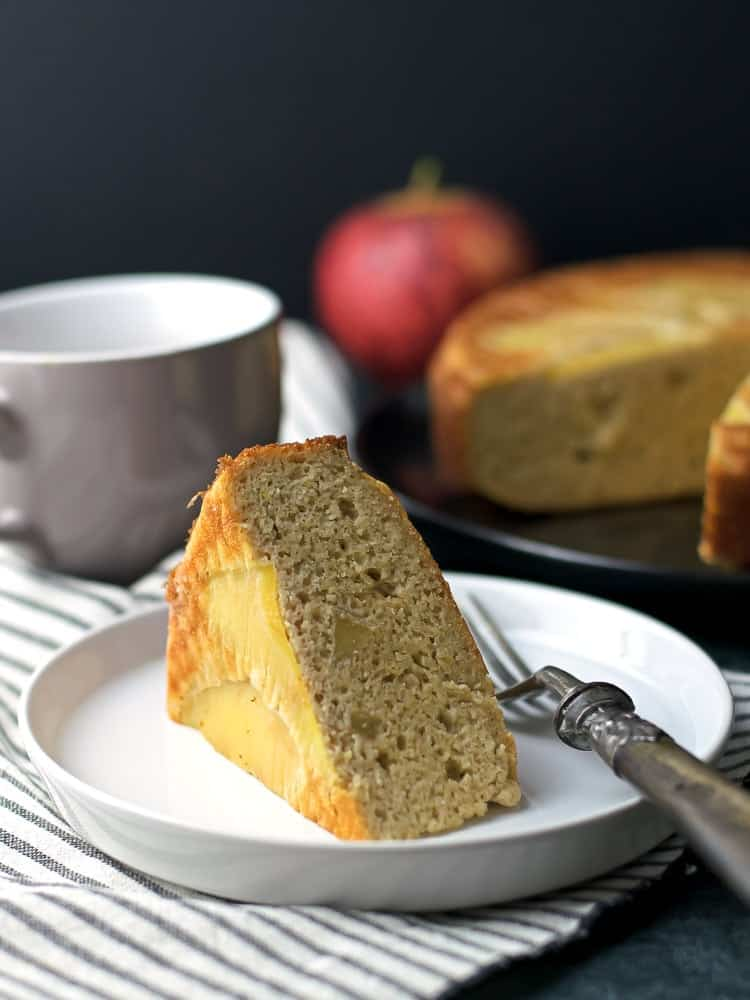 Healthy Almond Apple Cake
