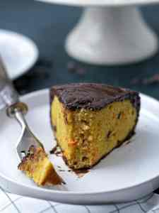 Paleo Carrot Chocolate Cake
