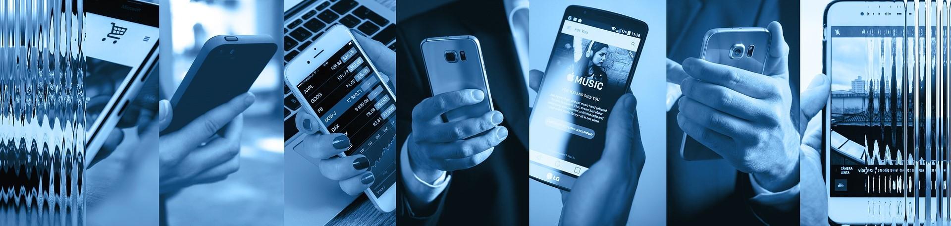 7 different smartphones