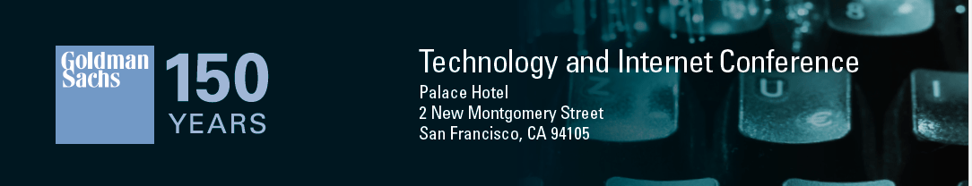 Technology and Internet conference banner