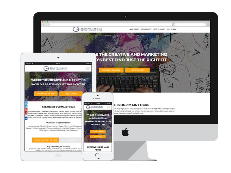 AnitaM Web Design - Creative Hub Asia