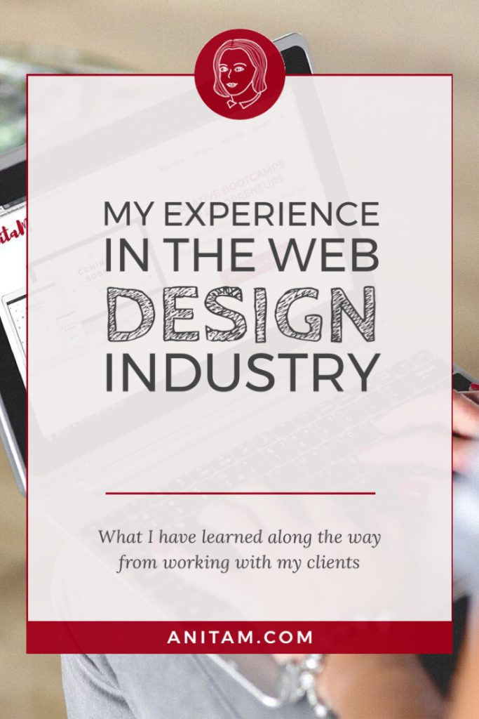 AnitaM | Web Design Experience with WordPress