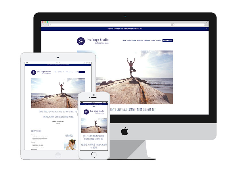 AnitaM Web Design - Jiva Yoga Saigon