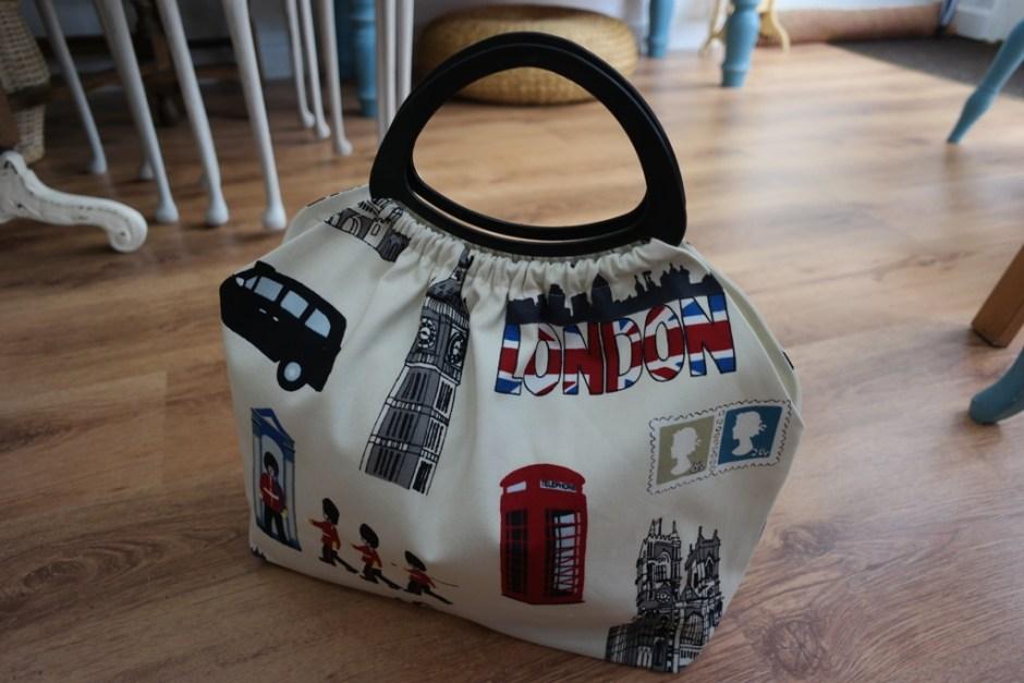 London Fabric Craft Bag