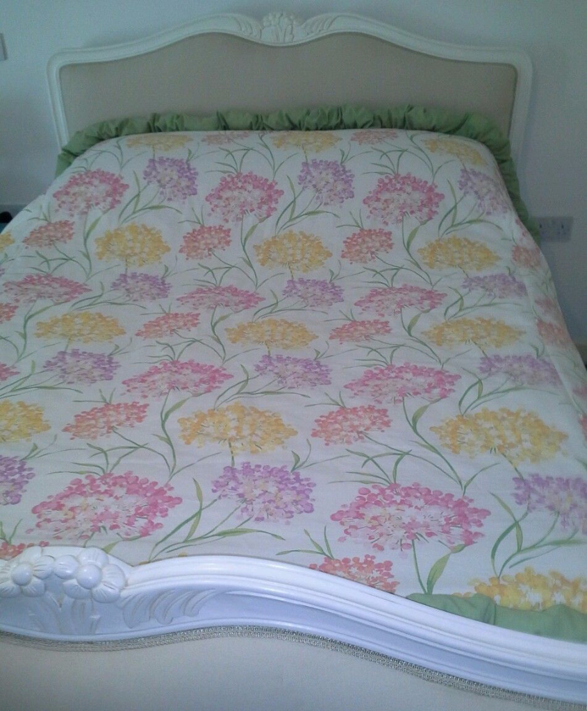 Bubble Quilt Laura Ashley Giselle Kingsize Bedspread Anitas Soft