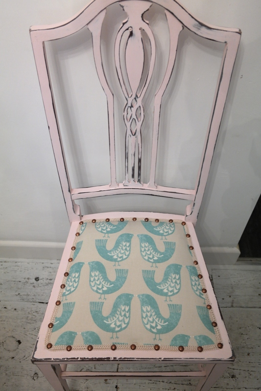 Shabby Chic China Rose Chair Anitas Soft Furnishings Accrington