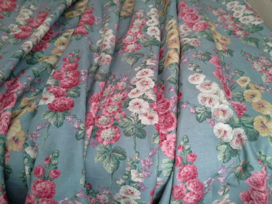 Hollyhocks Curtains
