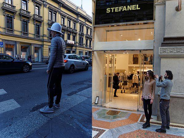 MILÁNÓ UTCÁIN MINDEN MEGTÖRTÉNHET // EVERYTHING IS POSSIBLE ON THE STREETS OF MILANO
