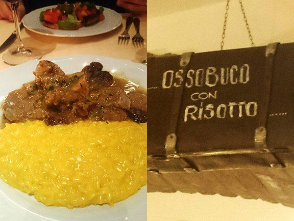 OSSOBUCO & RISOTTO ALLA MILANESE