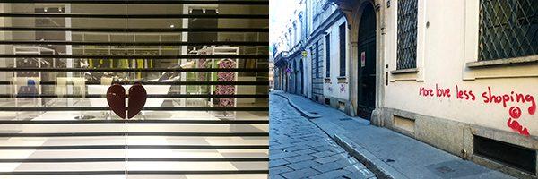 MOSCHINO KIRAKAT ÉS EGY FRAPPÁNS GRAFFITI // MOSCHINO SHOWCASE AND A STRIKING GRAFFITI