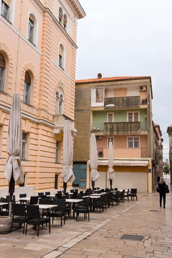 PASTEL STREETS OF ZADAR