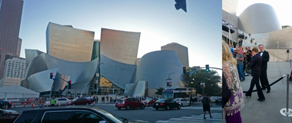 WALT DISNEY CONCERT HALL & JULIE ANDREWS
