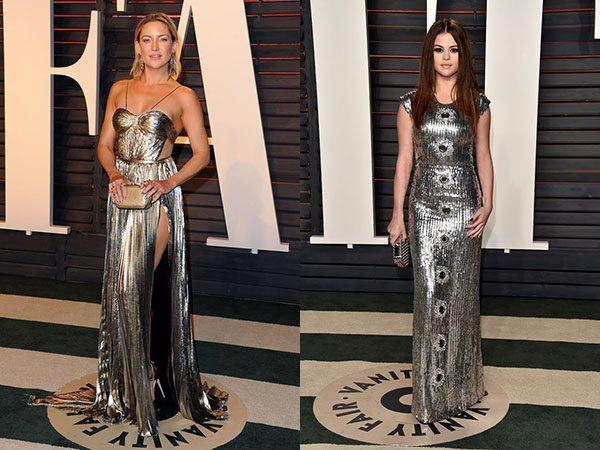 Oscar szobrok ezüstben: Selena Gomez & Kate Hudson