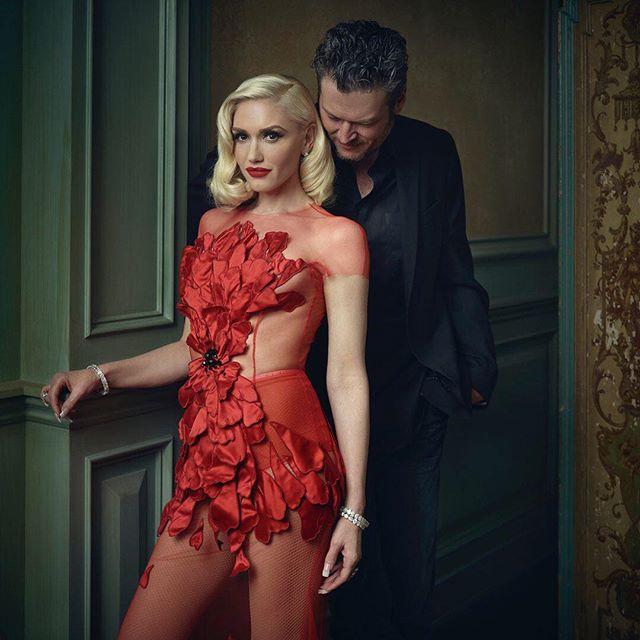 Gwen Stefani &Blake Shelton