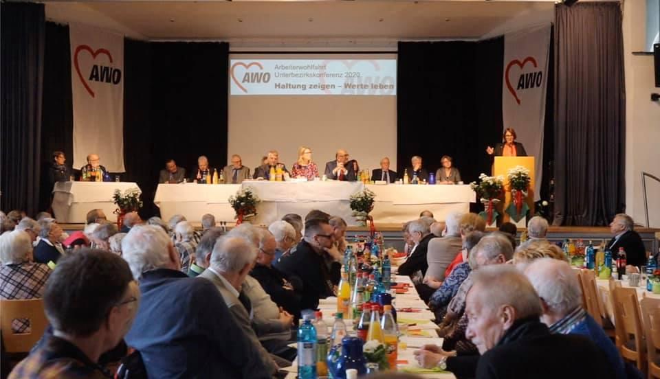 Die 128 Delegierten der Unterbezirkskonferenz der AWO Dortmund wählten Anja Butschkau zur Vorsitzenden.