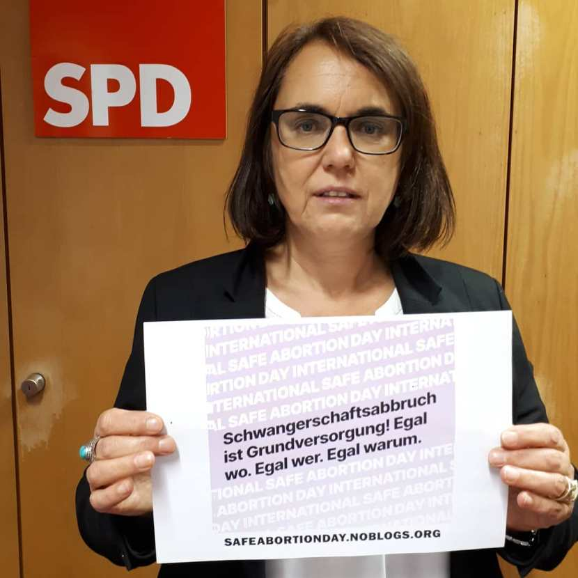 Safe Abortion Day Weg mit Paragraf 218 Abtreibung ist Grundversorgung Anja Butschkau Schwangerschaftsabbruch