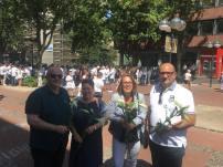 Friedensmarsch Srebrenica 4/4, 07.07.2018