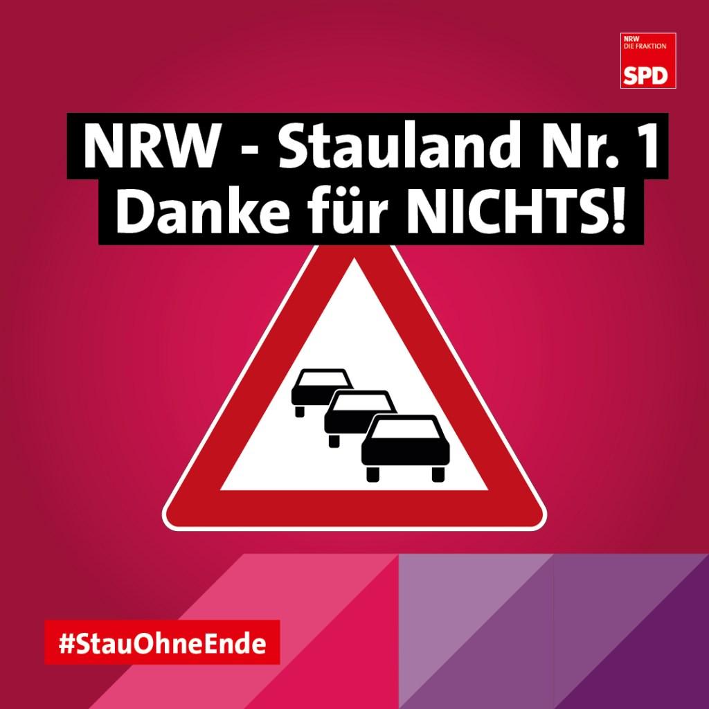 NRW bleibt Stauland Nummer 1 Staus NRW
