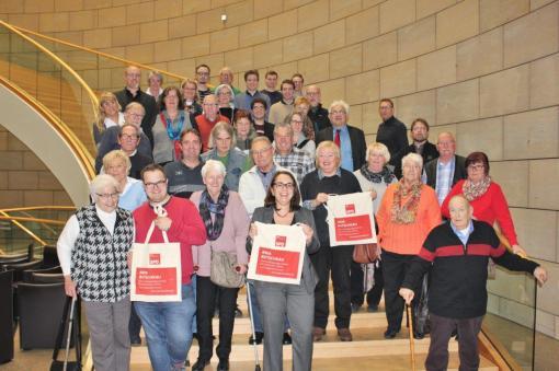 Besuchergruppe SPD 1/4, 20.12.2017