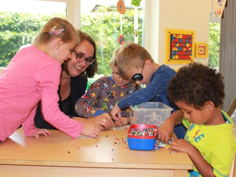 Anja Butschkau besuchte das AWO-Familienzentrum Am Hasenberg in Holzen.