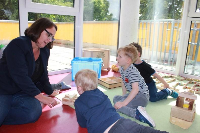 Anja Butschkau besuchte das AWO-Familienzentrum Am Bruchheck in Hörde.
