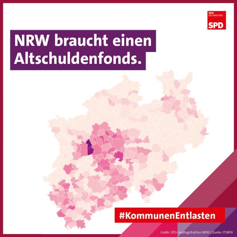 Kommunen NRW Altschuldenfond Finanzen