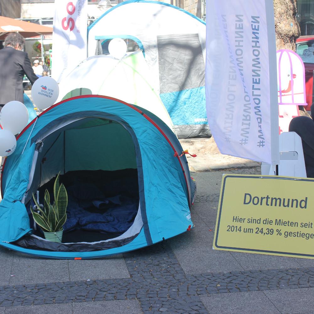 Wir wollen wohnen Wohnungslosigkeit Dortmund