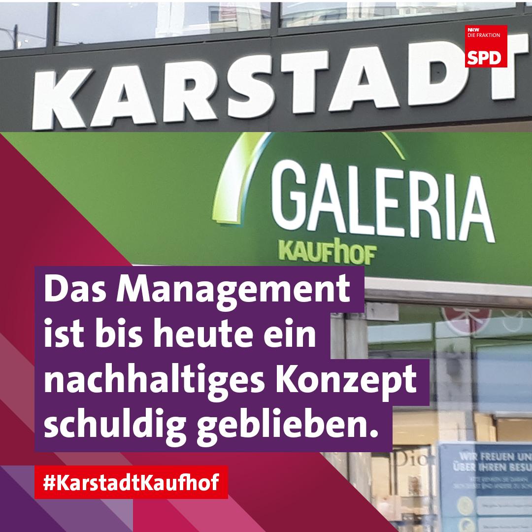 Galeria Karstadt Kaufhof Sanierungskonzept Anja Butschkau