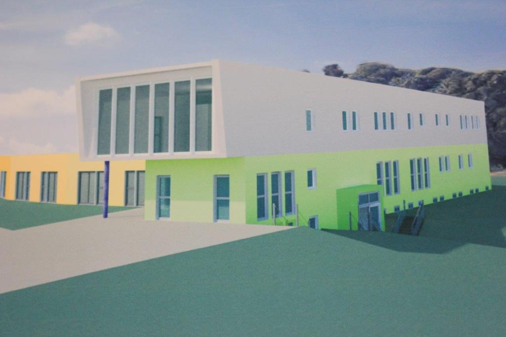 Infoveranstaltung Kinderhospiz Sonnenherz Dortmund Entwurf Gebäude