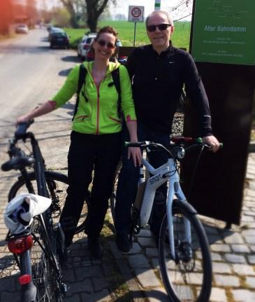 "Start am Radweg ""Alter Bahndamm"""