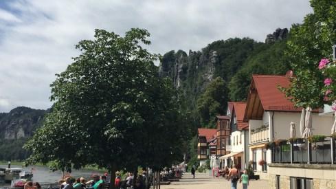 Rathen - von den Touristen entdeckt ;-)