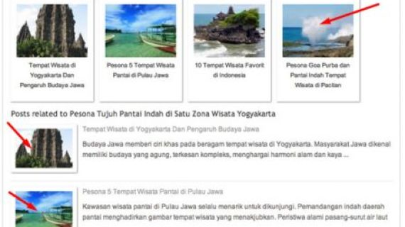 Cara Membuat Related Post dengan Thumbnail di WordPress