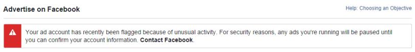 Apa yang menyebabkan AME facebook AME Account Manager Error FB