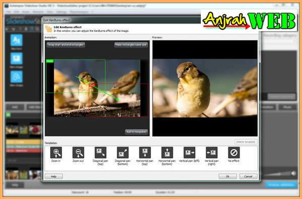 Cara membuat video youtube dari kumpulan foto Ashampoo Slideshow Studio HD 3