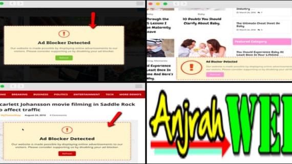 Cara Pasang Matikan Adsblocker? Pasang Theme Adsense WordPress Anti Adsblocker Aja