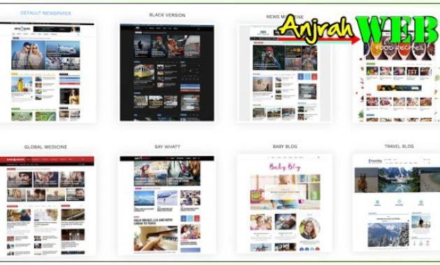 theme untuk blog berita wordpress, theme wordpress untuk portal berita