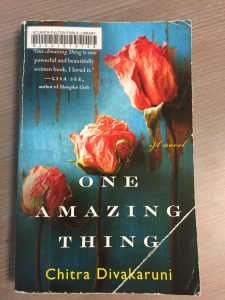 Author, One Amazing Thing, Fiction, Book Chitra Divakaruni,