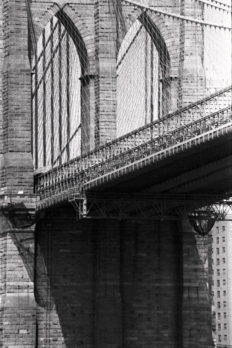 Brooklyn Bridge prints from film camera by anko photography