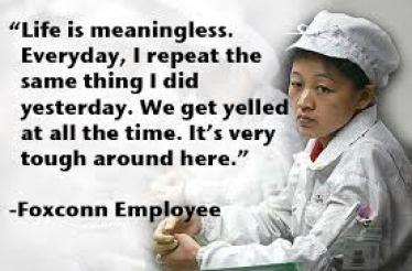 Foxconn, Sömürü Fabrikası