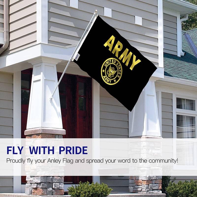 USA Army Crest Flag