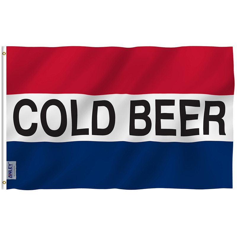 cold beer flag