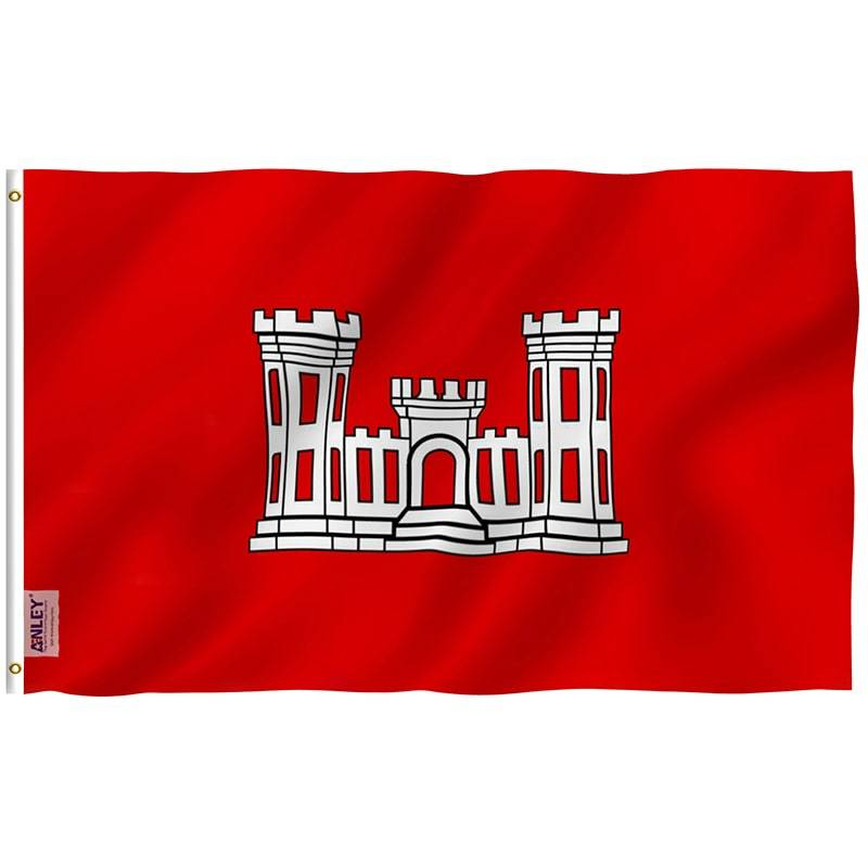 US Army Corps of Engineers Flag