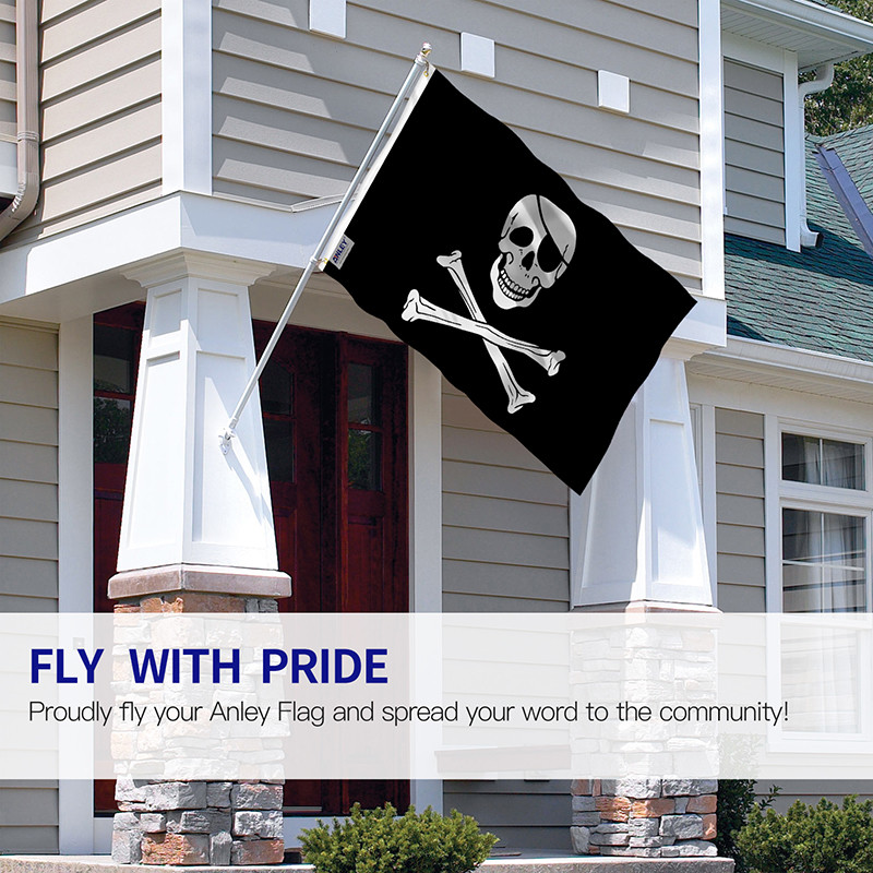 Jolly Roger Flag with Eyepatch