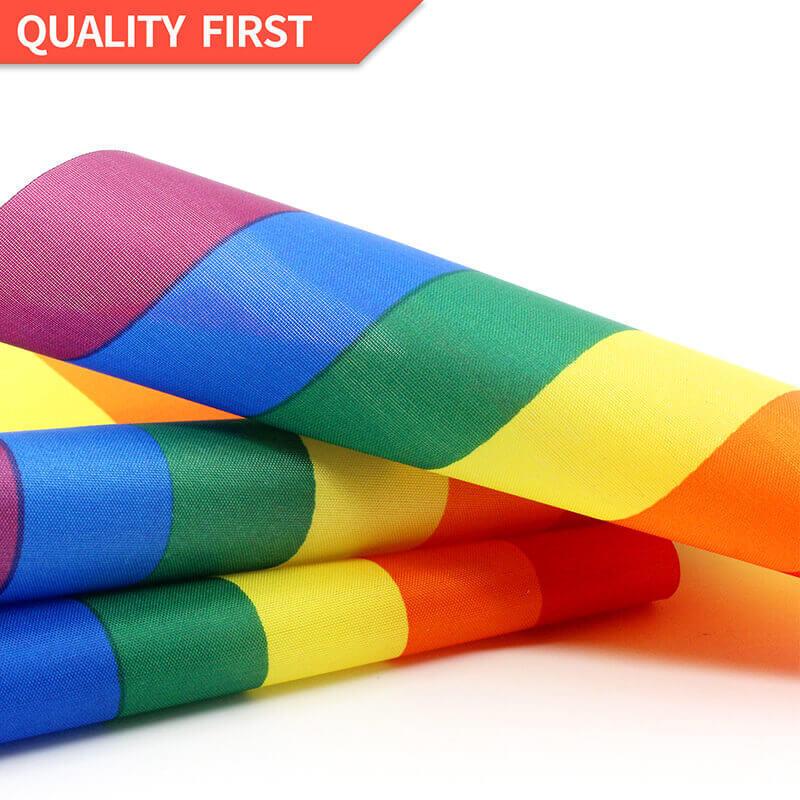Rainbow Stick Flag