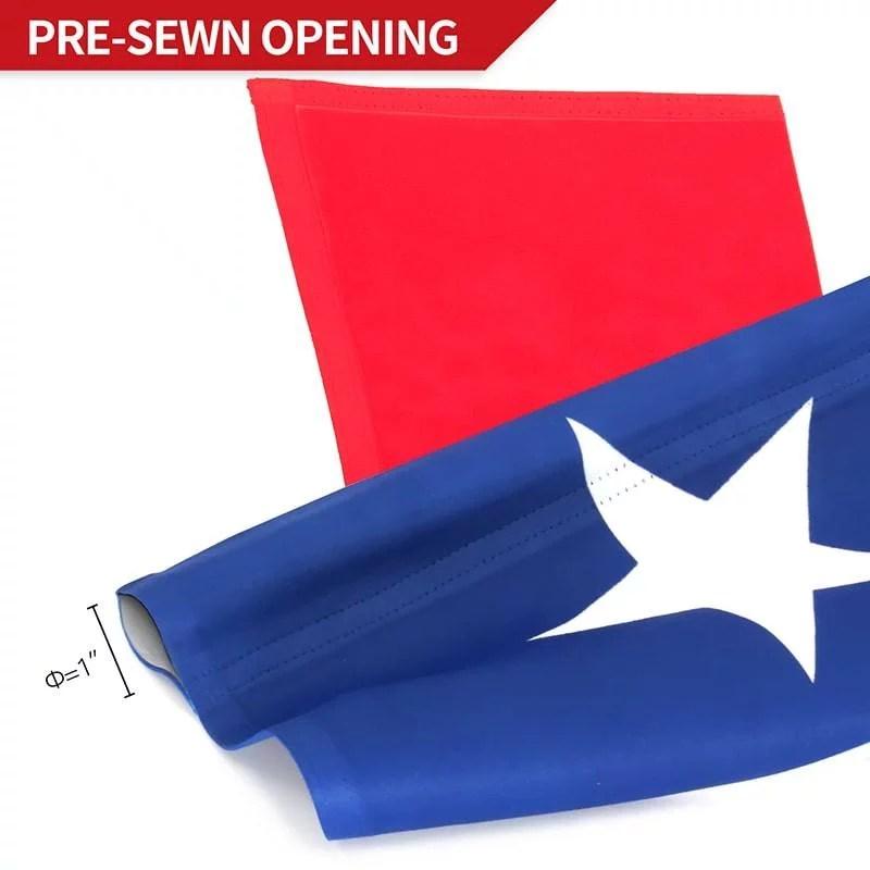 Texas State garden flag