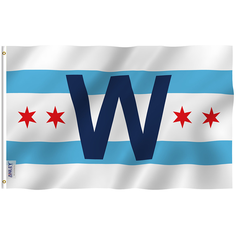 Chicago Club Win Combo Flag